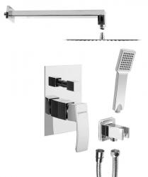 SAPHO - GINKO podomítkový sprchový set s pákovou baterií, 2 výstupy, chrom (1101-42-01)