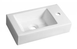 SAPHO - MELINDA keramické umývátko 46x11x26 cm (BH7004)