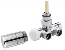 SAPHO - MONO ONE připojovací sada ventilů termostatická jednobodová, chrom (CP2050)