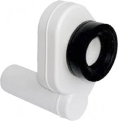SAPHO - Pisoárový sifon zadní, odsávací, odpad 50mm, plast (CV1022)