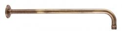 SLEZAK-RAV - Držák boční pro hlavovou sprchu 40 cm stará mosaz, Barva: stará mosaz (MD0150SM)