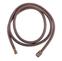 SLEZAK-RAV - Sprchová hadice 200 cm stará mosaz, Barva: stará mosaz, Rozměr: 200 cm (MH0005SM)