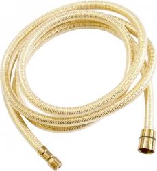 SLEZAK-RAV - Sprchová hadice - 200 cm ZLATÁ, Barva: plast/zlato, Rozměr: 200 cm (PH2006Z)