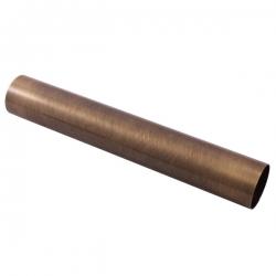 SLEZAK-RAV - Trubka k umyvadlovému sifonu - horizontální část - stará mosaz, Barva: stará mosaz, Rozměr: 35 cm (MD0691-35SM)