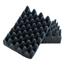 Speciální měkká černá houba na karoserii Lemmen anti scratch 72X010 (EG772X010/1)