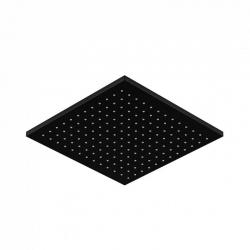STEINBERG - Hlavová sprcha 300x300x8 mm, Easy-clean systém, černá mat (120 1686 S)