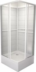 TEIKO sprchový box čtvercový SBOXRH 2/90 PEARL BÍLÝ 90x90x185 (V323090N51T12001)