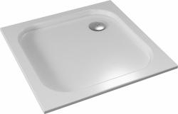 TEIKO vanička čtvercová BIANCA Bílá 80 x 80 x 3,5 (V134080N32T05001)