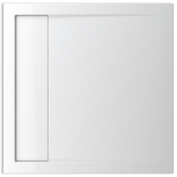 TEIKO vanička čtvercová HERCULES 80x80 Bílá 80 x 80 x 3,5 (V134080N32T07001)