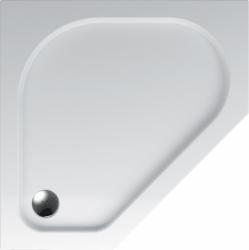 TEIKO vanička pětiúhelníková ZEUS BÍLÁ 90 x 90 x 3,5 (V136090N32T02001)
