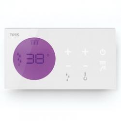 TRES - Zapuštěné elektronické termostatické ovládání SHOWER TECHNOLOGY  Včetně elektronického ovládání (bílá barva). Zabudo (09286299)
