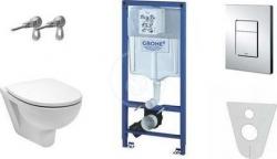 WC konstrukce a podomítkové moduly