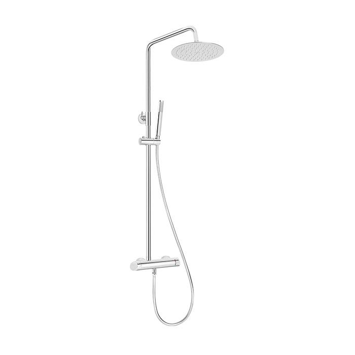 Sprchový komplet s pákovou směšovací baterií Adorf 01QK | A-Interiéry (adorf 01qk)