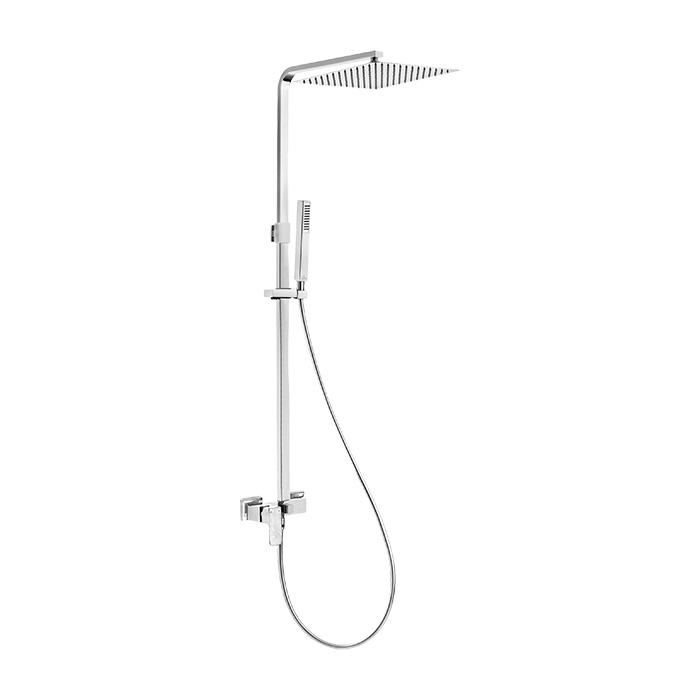 Sprchový komplet s pákovou směšovací baterií Austin 01ZM | A-Interiéry (austin 01zm)